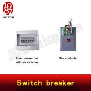 Image 5 - Rekwizyt do pokoju zagadek wyłącznik jxkj1987 przekręć przełącznik w odpowiednią pozycję, aby odblokować i uciec z komory poszukiwawczej
