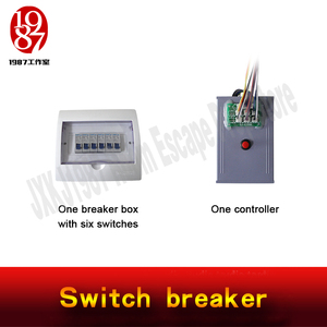 Image 5 - escape room game prop switch breaker jxkj1987 turn the switch to right position to unlock and escape adventurer chamber room
