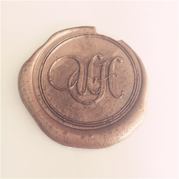 Custom Two Letter Initials Monogram Wax Seal Stamp 2
