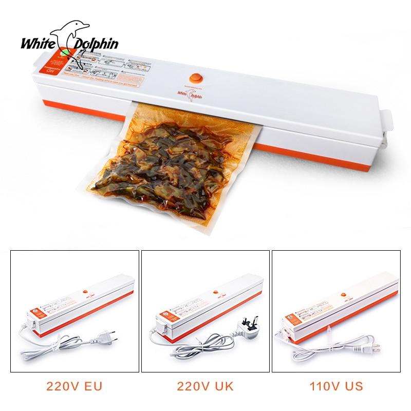 Image 2 - Food Vacuum Sealer Packaging Machine 110V 220V Film Sealer Vacuum Packer Saver Storage Rolls  15Pcs Bags Best Vacuum Food Sealervacuum food sealerfood vacuum sealerfood sealer -