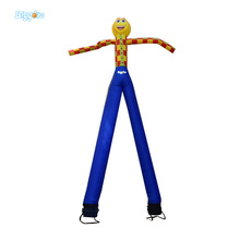 Hot 7 m Height Smile Face Free Shipping Inflatable Air Dancer Sky Dancer For Event