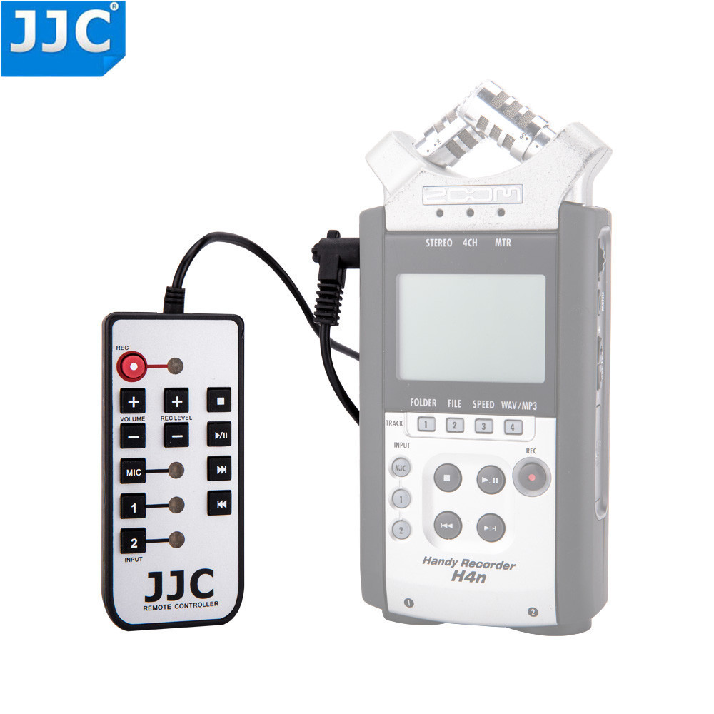 JJC Handy Recorder Camera Accessories Remote Pouch Screen Proctor for ZOOM H4n LCD Guard Film Bag Case