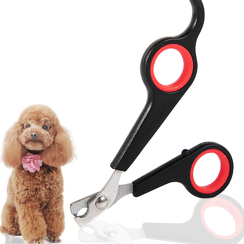 1 Pc Durable Stainless Steel Blade Trimmer Cat Dogs Scissors Clippers For Nail Grooming Pet Toys
