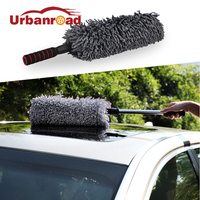 Auto Microfiber Car Duster Brush Cleaning Dirt Dust Clean Brush Universal Car Care Tools Polishing Detailing