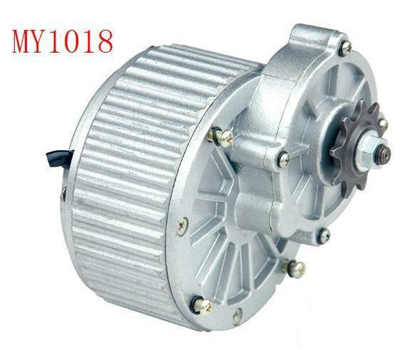 купить 250w DC 24 v gear brush motor, DC gear brushed motor, Electric Bike / electric tricycle motor, scooter motor MY1018 по цене 3739.86 рублей