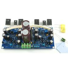 L12 Two-Channel FET Output w/Rectification Filter VER2 Power Amplifier Finished by LJM new 2 channel l150w 200w mosfet irfp250 12 fet power amplifier finished board