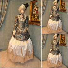 On sale SC-637 Victorian Gothic Civil War Southern Belle Ball Gown Dress  Halloween dresses Sz US 6-26 XS-6XL 9f899624023f