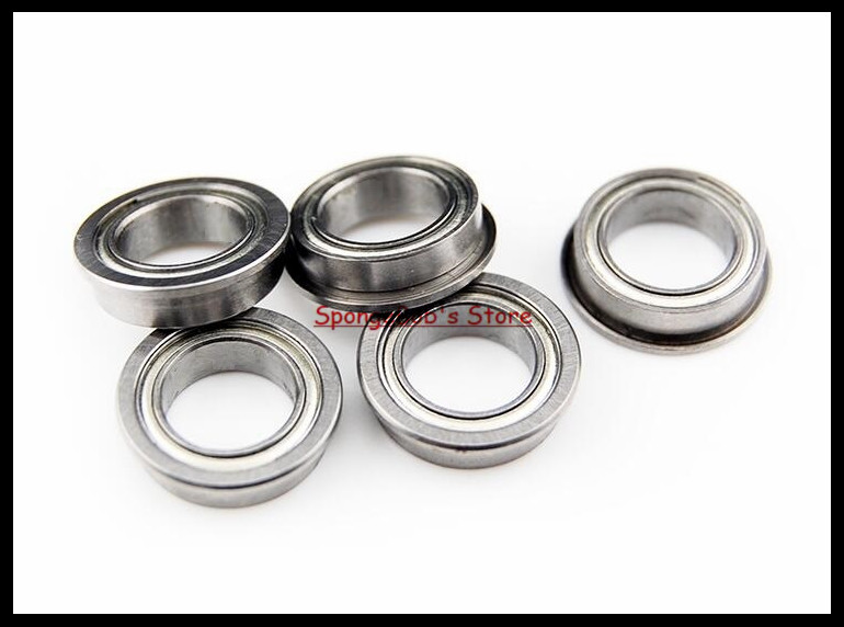 30pcs/Lot F6700ZZ F6700 ZZ 10x15x4mm Flange Thin Wall Deep Groove Ball Bearing Miniature Bearing nokia 6700 classic illuvial