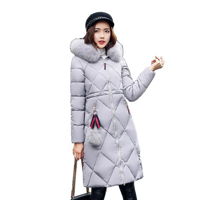 08875678afaf Femmes-Vestes-D-hiver-Capuche-En-Fausse-Fourrure-Col-Extra-Long-Manteau- Femme-Parka-Solide-Coton.jpg