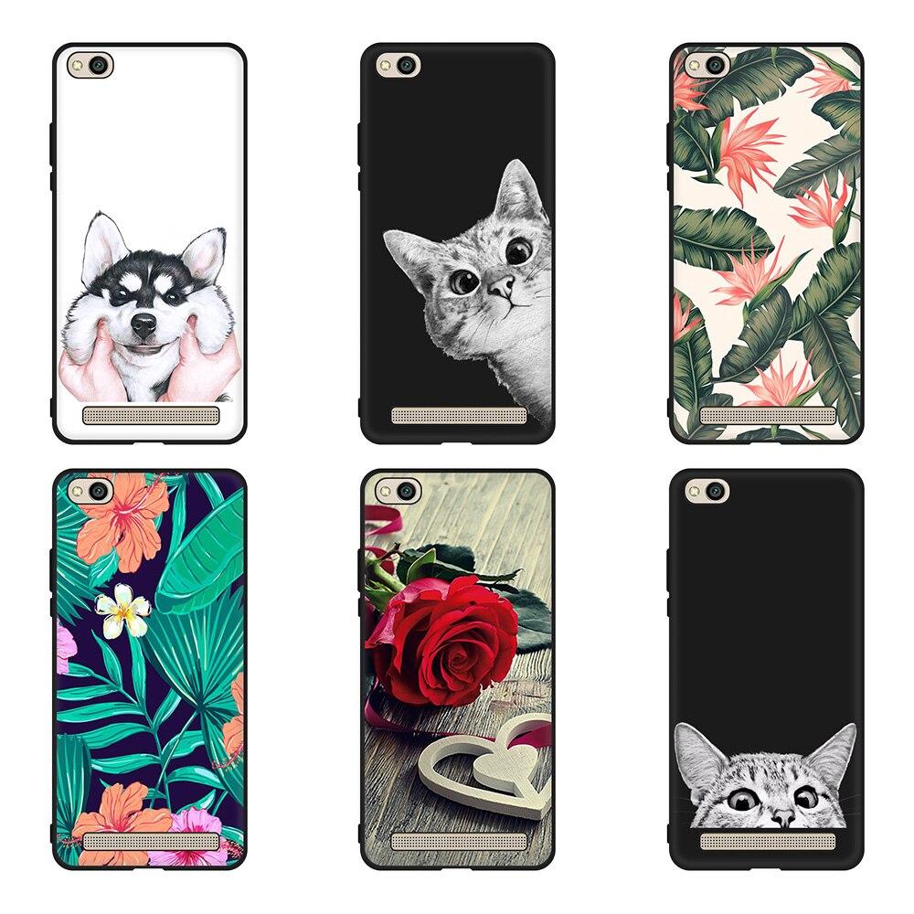 For Xiaomi Redmi 5 5A 5 Plus Printing Case Soft TPU Silicone Phone Back Cover Case Redmi 6Pro 6 6A 4X 4A Pattern Fundas Cases