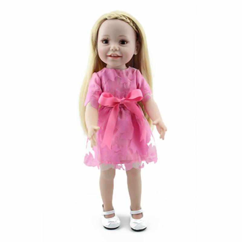Рыжие куклы платье
