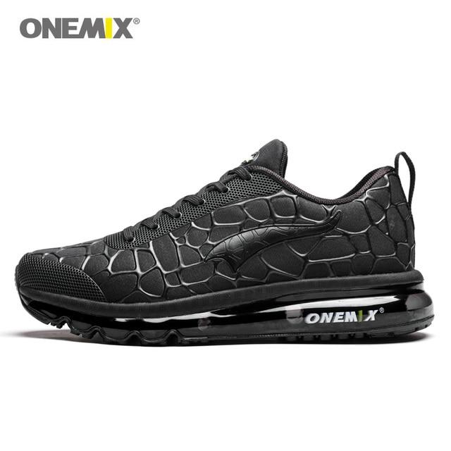 Onemix мужские кроссовки дышащие hommes спортивные обувь курс уличные спортивные кроссовки для ходьбы Большие размеры 39-47 обувь