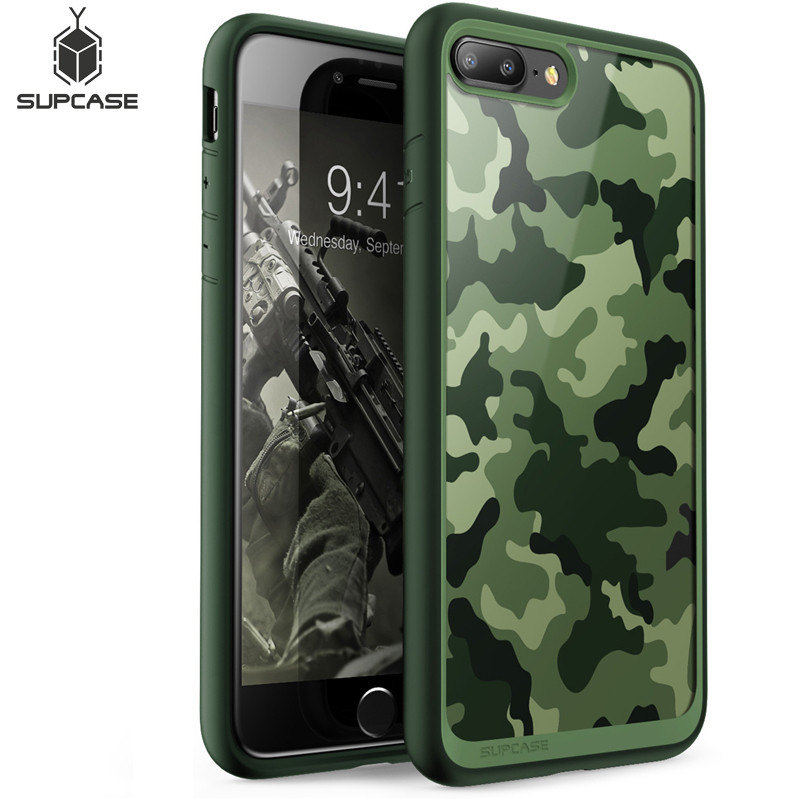 SUPCASE For iphone 7 Plus Case UB Style Camouflage Color Premium Hybrid Protective Bumper Cover For iPhone 7 Plus (2016 Release)-in Fitted Cases from Cellphones & Telecommunications on AliExpress - 11.11_Double 11_Singles' Day 1