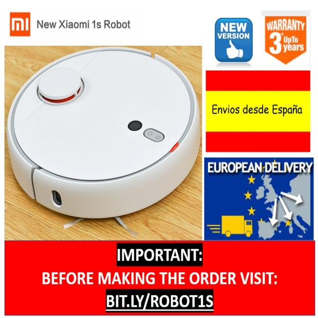 US $299 99 |Xiaomi Robot 1S Vacuum Cleaner Mi Robot for Home Automatic  Sweep Dust Sterilize LDS Smart Planned Mijia App Remote Control-in Vacuum