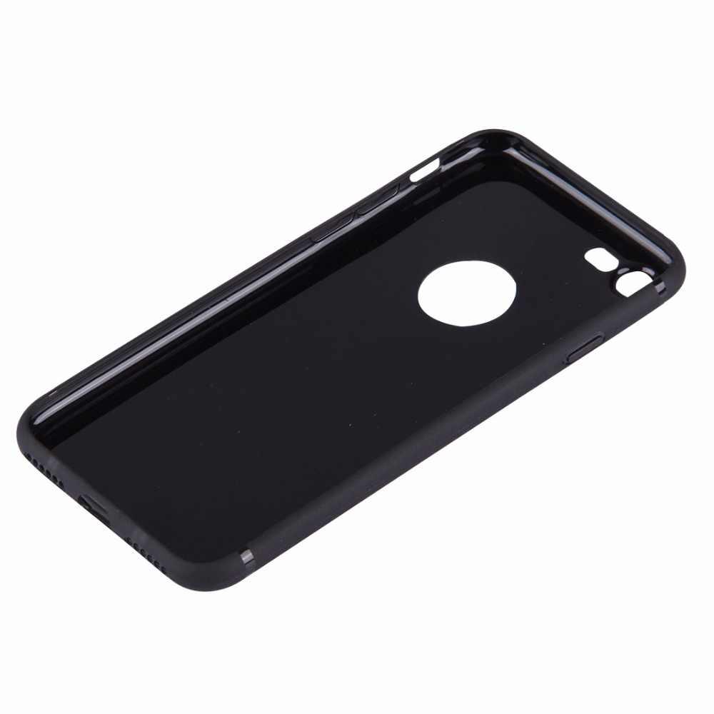 Para iPhone 7 7 Plus 2 en 1 adaptador de tarjeta Dual SIM + cubierta trasera TPU con bandeja de tarjeta SIM/Pin de tarjeta SIM