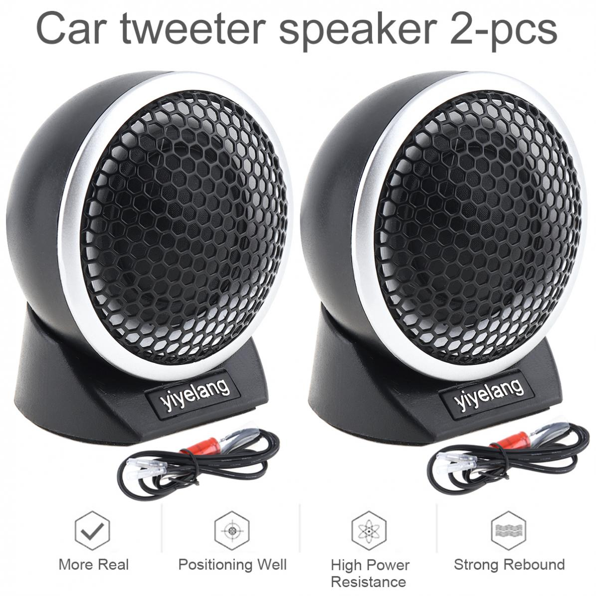 2pcs 150W Universal High Efficiency Super Silk Dome Car Tweeter Speakers For Car Audio System