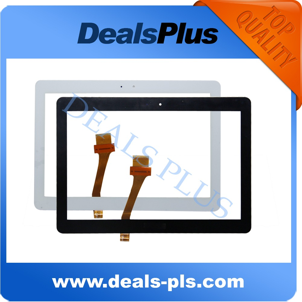 Replacement New Touch Screen Digitizer For <font><b>Samsung</b></font> Galaxy Tab 2 <font><b>P5100</b></font> P5110 N8000 N8010 N8020 N8013 N8005 10.1-inch Black White image