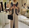 2016 новый Взрослых Случайный Халат Мусульманского Турецких Печатных Абая Мусульманский Платье Кардиган Халаты Арабские Богослужения