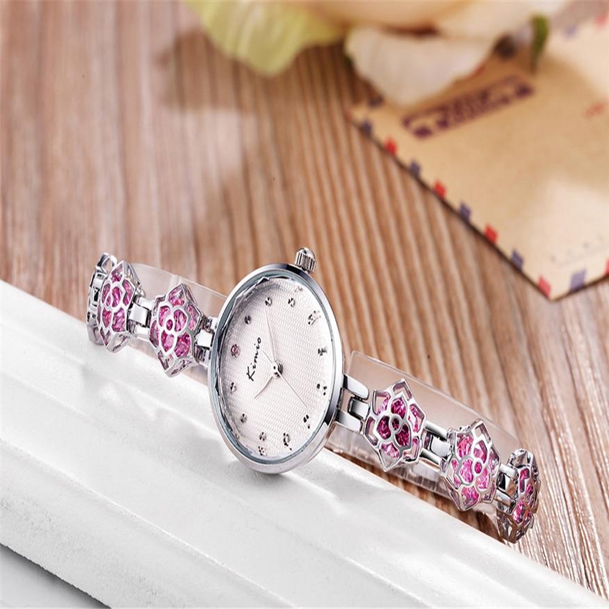Kimio 2017 New Women's Watches Fashion Steel Bracelet Quartz Watch  Montre Femme Hour Clock Women TOP BRAND kimio 2017 new women s watches fashion steel bracelet quartz watch montre femme hour clock women top brand
