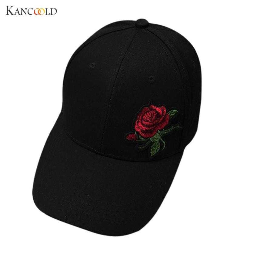 Модные Кепки Для женщин на лето и весну хлопок Кепки S Для женщин цветок  сплошной взрослых 2448727a3f28a