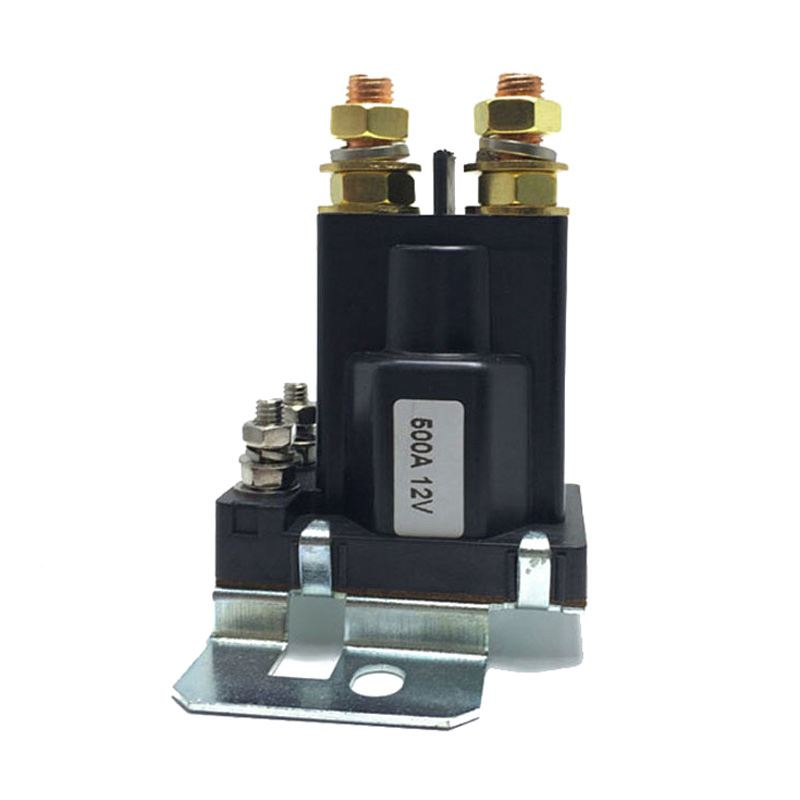 Dual Battery Isolator Relay Start On/Off 4 Pin 500A 24V For Car Power Switch new high current 500a amp relay dc 12v 24v 4 pin continues working auto power switch on off control for car motors drives
