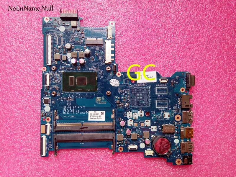 For HP 250 G5 Laptop Motherboard LA-D707P w/I3-4005U 909211-601 909211-501 909211-001 Motherboard Test workFor HP 250 G5 Laptop Motherboard LA-D707P w/I3-4005U 909211-601 909211-501 909211-001 Motherboard Test work
