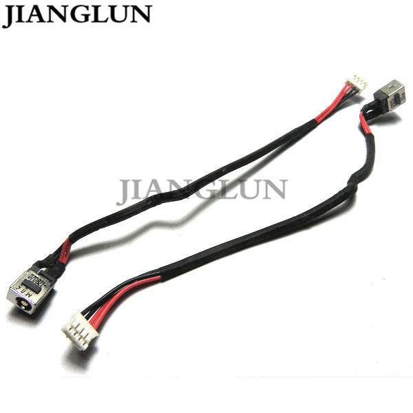 JIANGLUN 5X New DC Power Jack With Cable Harness For benq