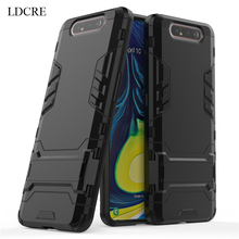 sFor Samsung Galaxy A90 Case Luxury Robot Hard Back Fundas Phone For Cover