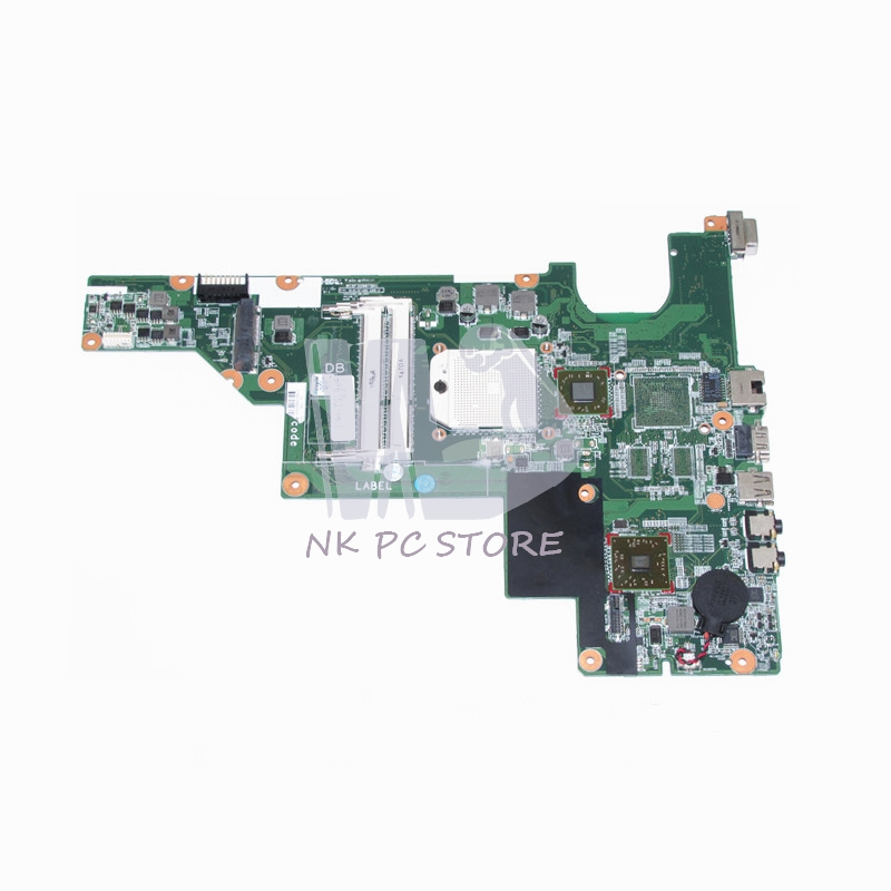 646982-001 Main Board For HP Compaq 435 635 CQ43 Laptop motherboard Socket s1 DDR3 with Free CPU ноутбук hp compaq 15 ay044ur