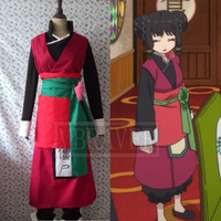 Hoozuki no Reitetsu Zombie Sister Cosplay Costume Customized