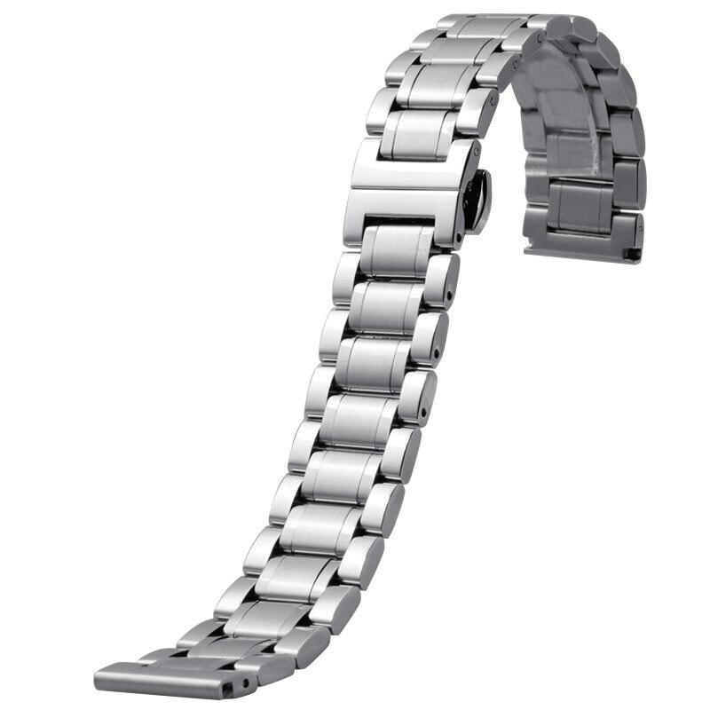14mm 16mm 18mm 20mm 22mm 24mm Stainless Steel Watch band Strap Bracelet Watchband Wristband For Longines Master/Seagu longines часы купить в москве