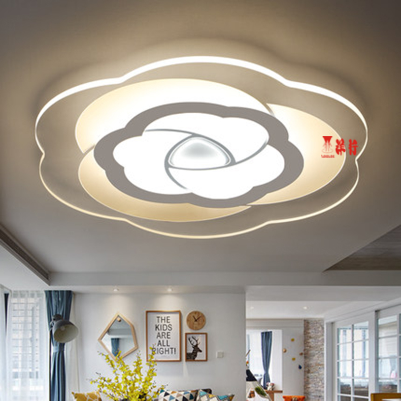 Lovely Modern Simple Round Rose Surface Mounted Smart Led Ceiling Light Lighting Lustre Ultra Thin Ceiling Lamp For Living Room Bedroom Back To Search Resultslights & Lighting Ceiling Lights & Fans