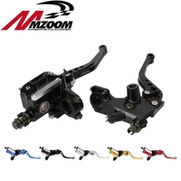 7 8 Motorcycle Accessories PX6 Brake Clutch Pump Hydraulic Cylinder Master Cylinder CNC Piston For Honda