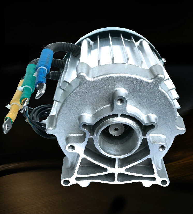 DC60V72V 1200W1500W2000W Special shaped Permanent Magnet Brushless Differential Motor Electric Vehicle / Forklift Parts
