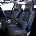 Роскошный кожаный чехол для автомобильного сиденья для mazda 3 bk bl Axela 323 6 gg gh gj CX-5 CX-7 626 cx3 cx-4 Чехлы для автомобильных сидений