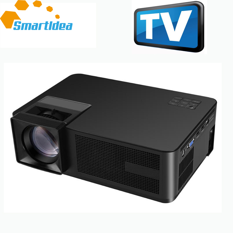 US $289 0 |SmartIdea Home Cinema LED Projector 720P HD 1080P video game  proyector 3D LCD TV Beamer HDMI USB VGA SD Big screen-in LCD Projectors  from