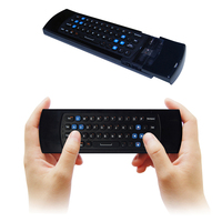 2.4 Gam Mini Wireless Air Bàn Phím Chuột có Hồng Ngoại Học Tập Từ Xa 3-Gyro + 3-Gsensor để chơi game/TV Thông Minh/IPTV/TVBOX/XBOX 360
