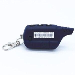 Image 5 - Porte clés télécommande LCD A61 2 voies, système dalarme de sécurité pour véhicules, russe Starline A61