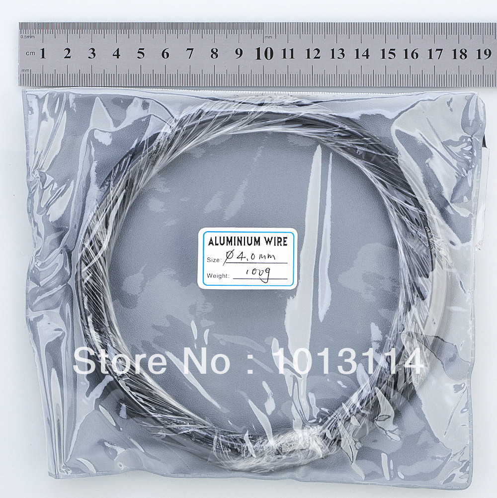 Bonsai Aluminum Training Wire Roll Bonsai Tools 4.0 mm diameter 100G ...