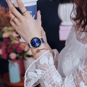 Image 5 - LIGE relojes de lujo para mujer, de cuarzo, deportivo, de pulsera, 2019