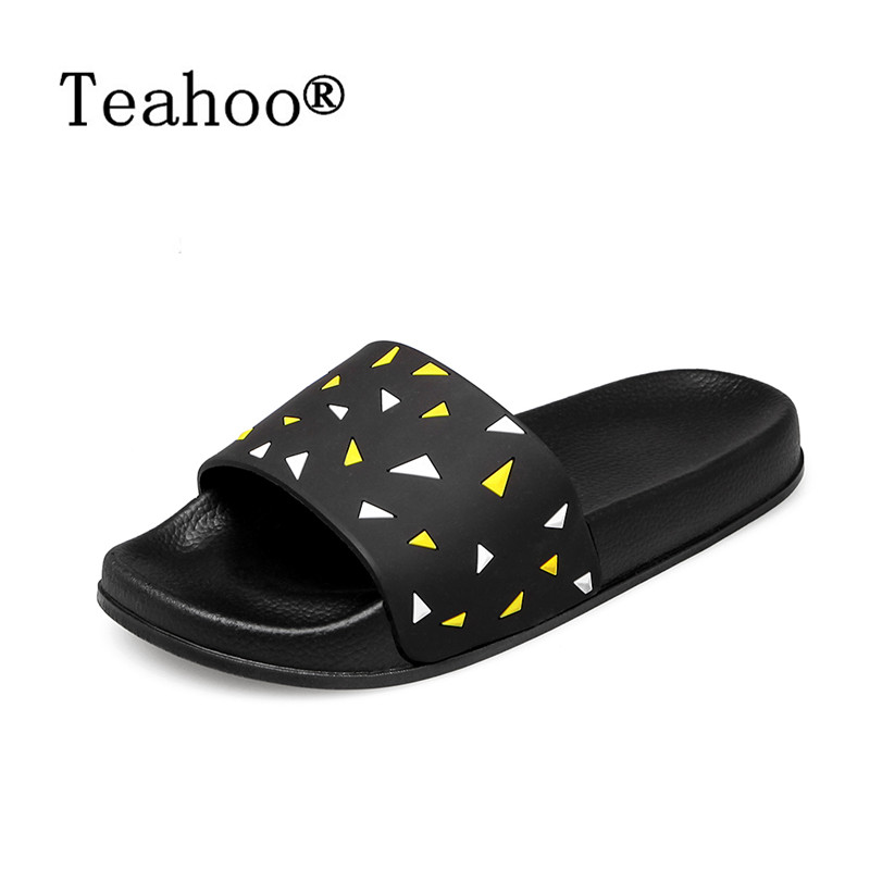 2017 Fashion Casual Home Slippers Indoor Floor Shoes Women