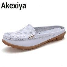 Akexiya 2017 Flip Flops Hausschuhe Frauen Sandalen Schuhe Freizeit Hausschuhe Slip-On Bequeme Sandalen Flip Flops Ausschnitte schuhe