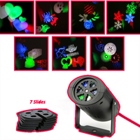 Moving Snowflake Projector Lumiere lamp Stage led christmas decoration lights for halloween DJ KTV Bar Party Garden Cbet