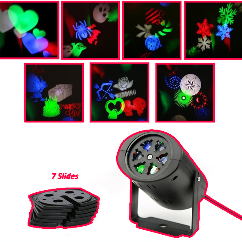 Moving Snowflake Projector Lumiere lamp Stage led christmas decoration lights for halloween DJ KTV Bar Party Garden divage кисть кабуки из натуральной щетины professional line