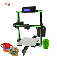 Anet E2 Low Noise Metal 3d Printer 22*27*22cm Build Size LCD 2004 Display Impressora 3d Aluminum Heating Plate Stampante 3d