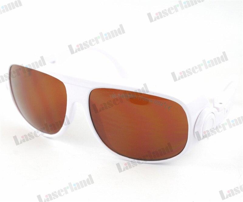 EP-1A-1 190nm-540nm 900nm-1700nm OD4+ Green IR/Infrared Laser Protective Goggles Glasses ep 8 9 190nm 470nm uv 800nm 808nm 1700nm od5 ir laser protective goggles glasses