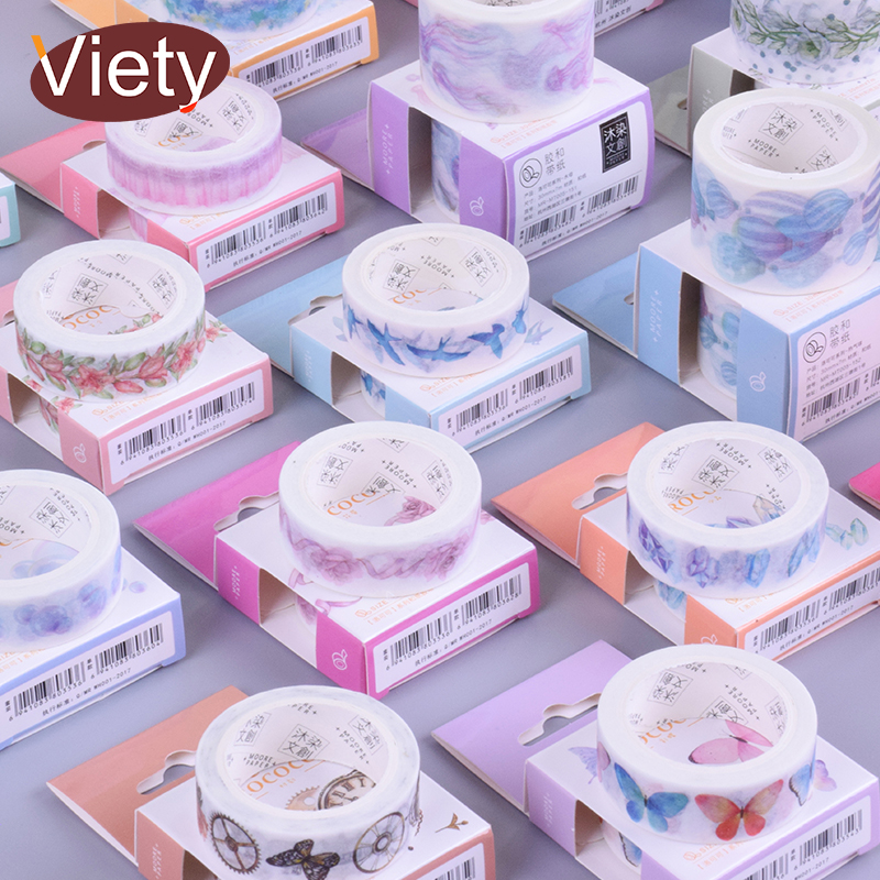 1.5/3cm*7m Vintage Rococo Washi Tape DIY Decoration Scrapbooking Planner Masking Tape Adhesive Tape Label Sticker Stationery