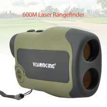 Wholesale prices Visionking SCC6X25 Handheld 600M Laser Range Finder Angle Height Measurement Telescope LCD Compact Portable For Hunting Golf