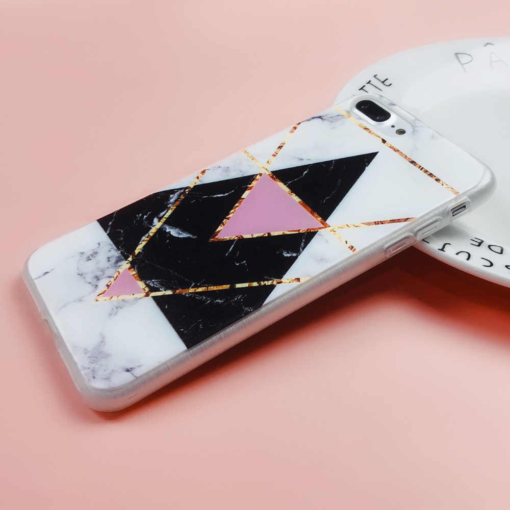 CASEIER чехол для телефона iPhone 7 8 плюс роскошный Мрамор камень силиконовые чехлы для iPhone X 5 5S SE 6 6 S плюс Capinha Coque принципиально