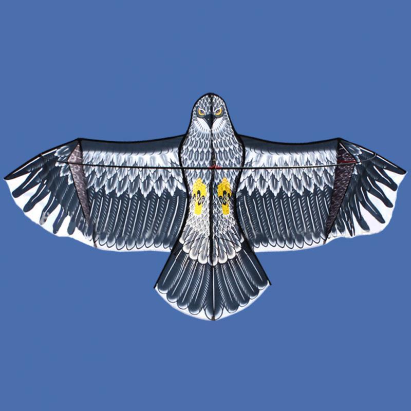 1.8 m/1.5 m Aigle Cerf-Volant avec 50 m Poignée Ligne de Haute Qualité En Plein Air Fun Sport Jeux Enfants Jouet voler Plus Haut Grands Cerfs-volants